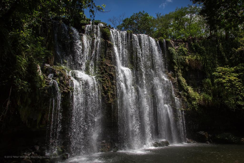 Nauyaca falls: a majestic waterfall system