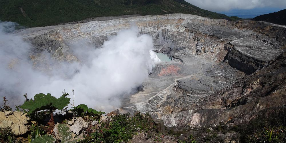 Volcanoes; one of Costa Rica's main touristic attractions