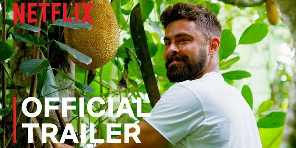 What is Zac Efron up to in his new documentary and why did he travel to  Costa Rica?