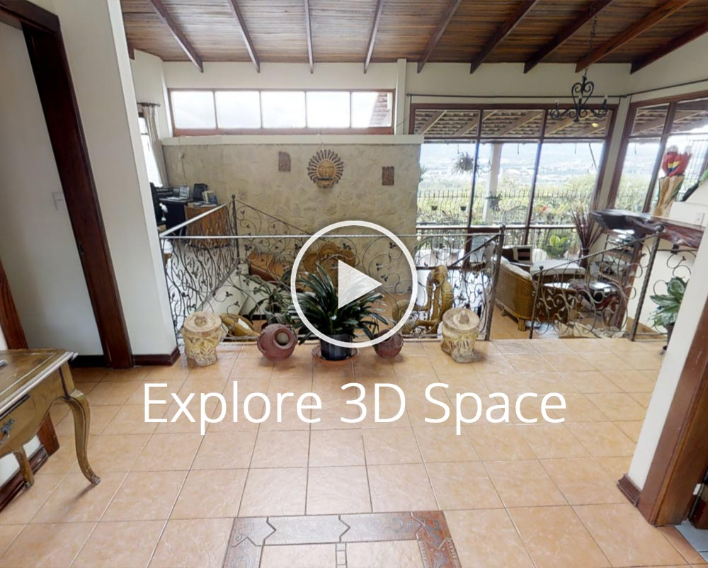 Easy-to-Buy Escazu Panoramic Estate with 2 Rental Units and Room for more...