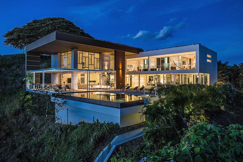 Eco villa with stunning views and natural surroundings for Costa rica luxury homes for sale