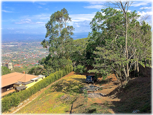 Bargain, real estate, View lot, for sale, in gated community, best deal, in escazu, santa ana, land,