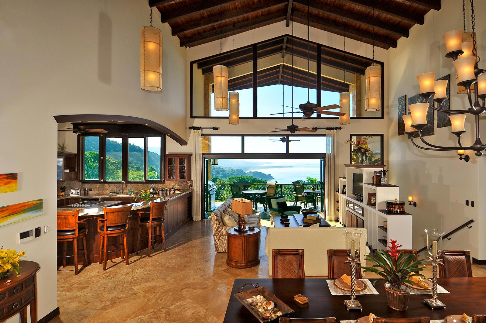 Ocean View Residence With Pool At Dominical Id Code 1578