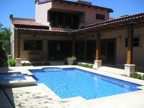 Casa de playa en guanacaste con finos acabados tamarindo for Jardines 300 metros cuadrados