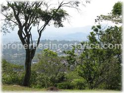 Escazu lot For Sale, beautifully landscaped lot for sale