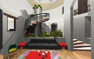 Properties in costa rica for Salones con escaleras interiores