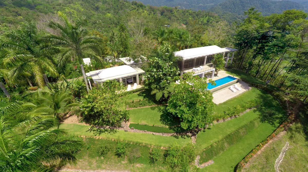 Whales tail view from this nature living space id code 3024 for Costa rica luxury homes for sale