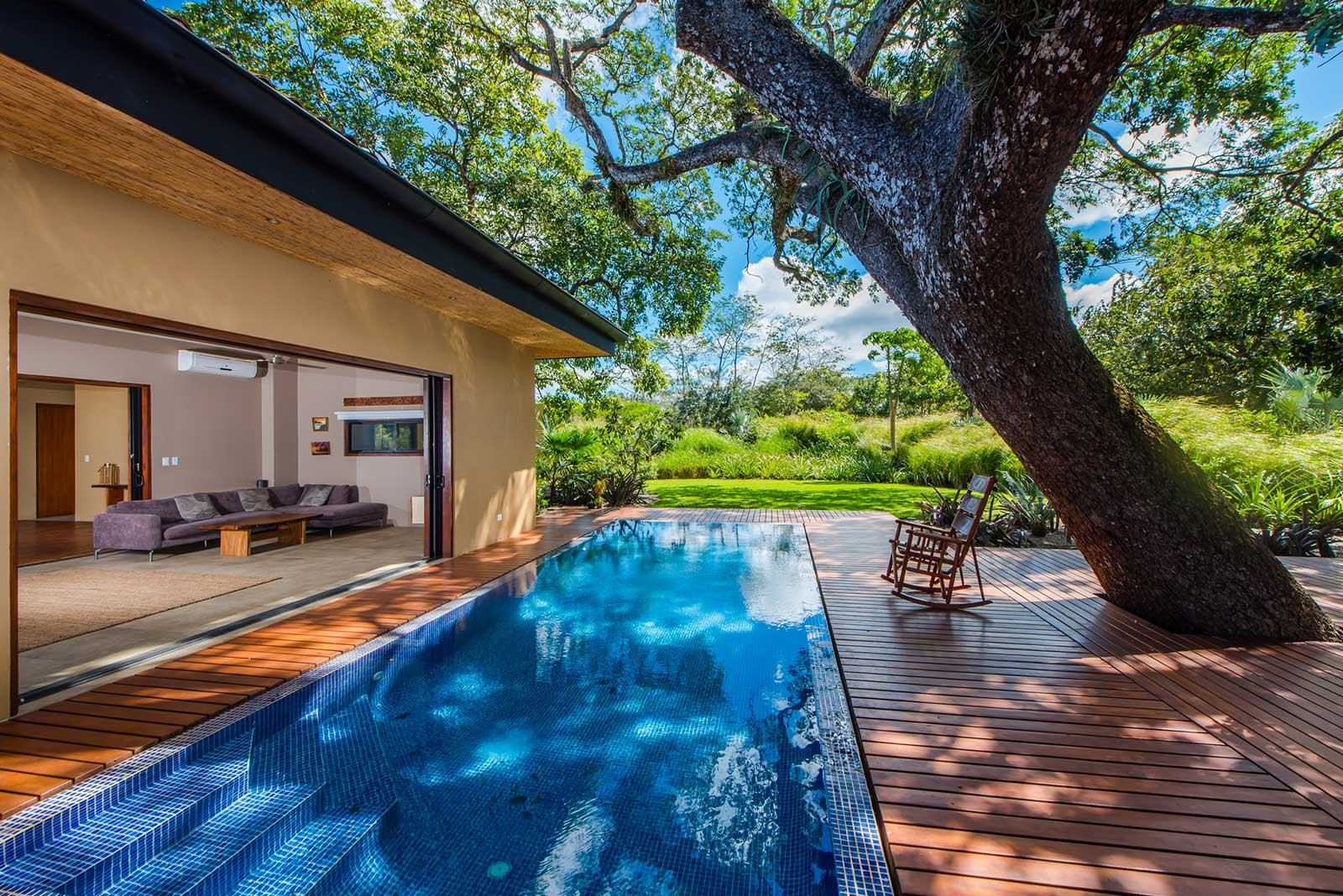 New and modern home within the exclusive resort community for Pool design costa rica