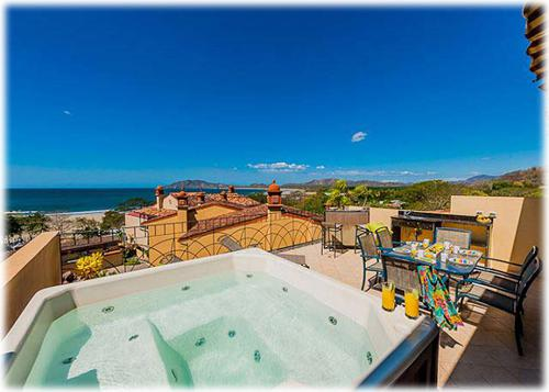 penthouse, for rent, luxury properties, tamarindo, oceanview, beach