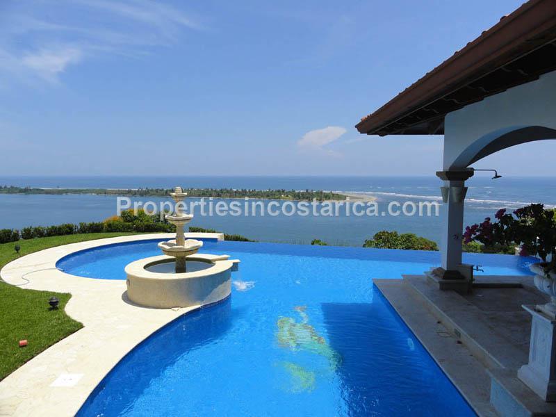 luxury ocean view home in ojochal id code 1952. Black Bedroom Furniture Sets. Home Design Ideas