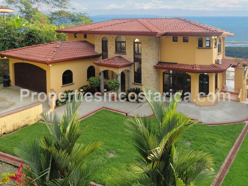 Dominical villa for rent or sale id code 2050 for Costa rican villas for rent