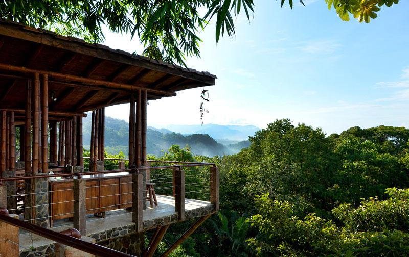 Ocean view rustic modern luxury property id code 2619 for Costa rica luxury homes for sale