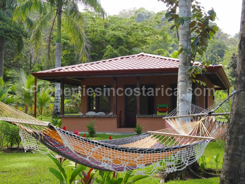 Costa Rica Real Estate Pavones Home Bungalow Jungle Surfing