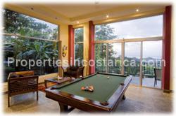 Costa Rica vacation villa, rainforest vacation home, Manuel Antonio, swimming pool, jungle villa, views
