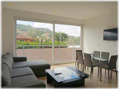 Distrito 4, condo for rent, Escazu rental, Furnished apartment, amenities, swimming pool, gym, club house...