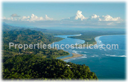 Costa Rica land for sale, beach, Dominical real estate, Puntarenas, 360 degree view, surfers, travellers, tropical, rich, river view, mountain view, ocean view,1510