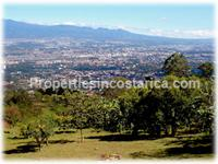 Specially selected and subdividable land for sale in San Antonio Escazu