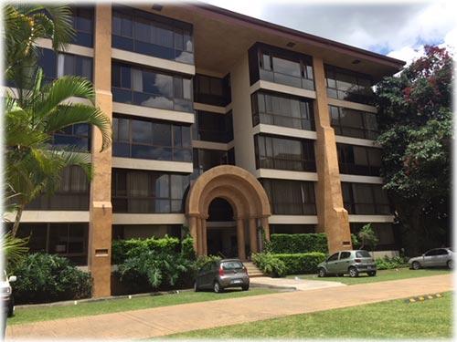 condo,complex, residential, views, golf, tennis, escazu, paco, building,gardens, trees,nature,centrally, exclusive