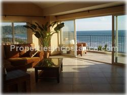 Jaco Costa Rica, Jaco beach real  estate, jaco penthouse, for sale, beachfront, fully furnished, terrace