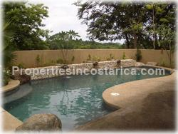 Tamarindo home, house with pool, Tamarindo community, security, custom, 1612