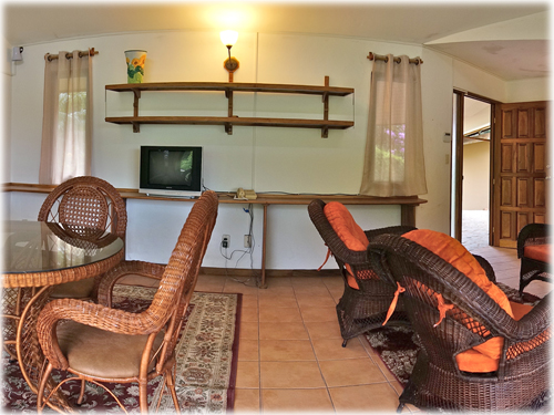 fully furnished, one bedroom, rental, apartment, in Escazu, panoramic, city, mountain, views, city, high speed internet, cable tv