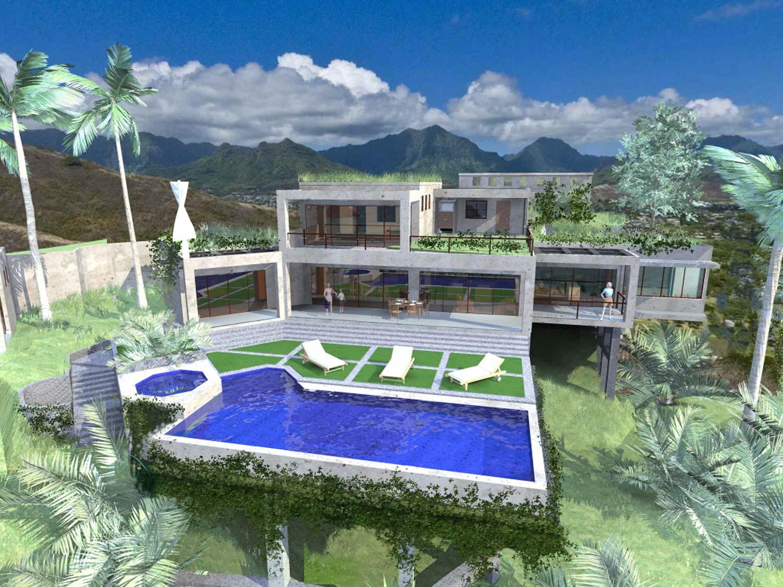 Unique opportunity to finish contemporary ocean-view villa