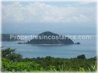 Unique ocean & island view lot for sale at Nicoya Peninsula A FIRE SALE!