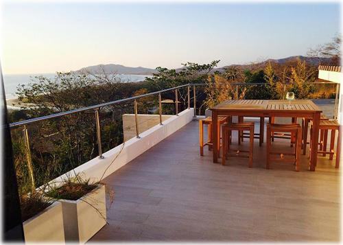 costa rica real estate, for rent, vacation homes, easy beach access, beach views, ocean view