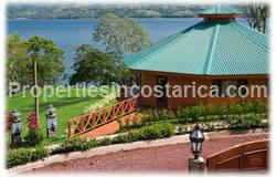 Fully furnished, Arenal lake home, Arenal real estate, lakefront, for sale, gated community, 1550