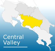 costa rica central valley map General Information About Central Valley costa rica central valley map